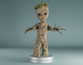 baby groot games 3D printable model
