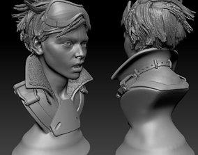 Overwatch Tracer Bust - Fan Art 3D printable model