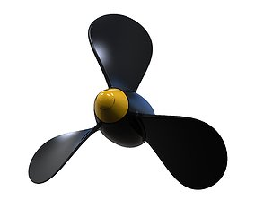 3D printable model Boat propeller