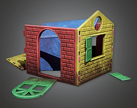 PAP - Abandoned Kids Playhouse - PBR Game Ready 3D asset
