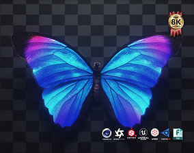 3D model Blue Morpho Butterfly