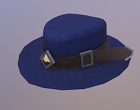 Low Poly Hat 3D model VR / AR ready