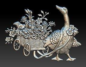 machine 3D duck