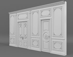 3D model Classic Interior Wall Decoration
