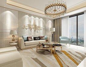 luxury livingroom 3D