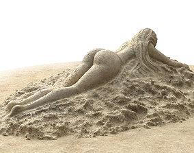 3D model Sand sculpture