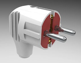 Electric plug mk 3 3D
