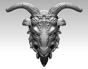 Ram Head ram 3D print model
