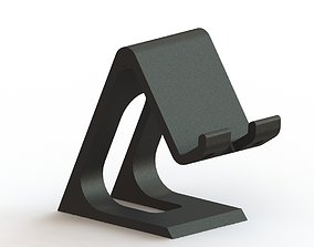 cell phone holder stand Elegant 3d printable