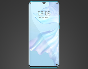 business Huawei P30 Pro-C4D Modeling and Rendering