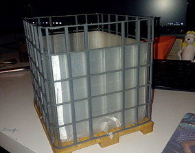 IBC with Lid 3D printable model