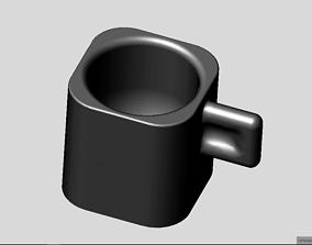Espresso cup 3D print model