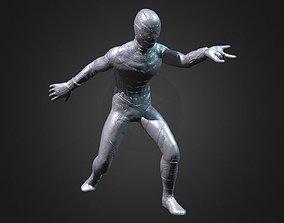SPIDER-MAN INSPIRITED POSED FIGURE 3D print model