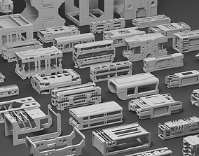 Hard Surface Framing Assets Volume 2 3D