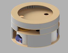 3D printable model hobby-diy synchro robot drive