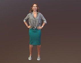 No99 - Female Standing 3D model