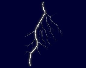 game-ready Realistic 3D Lightning CG-01