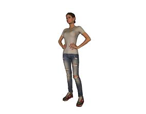 3D model Printle Femme 819