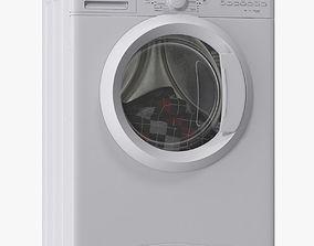 washing machine dryer 3D model