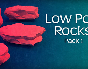 The Low Poly Rocks - Pack 1 3D printable model