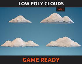 Low Poly Clouds Part 2 3D model