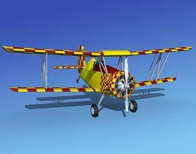 3D model Grumman G-164 AgCat V15 Sport
