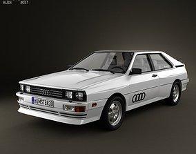 3D Audi Quattro 1980
