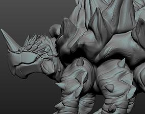 3D print model Tarasque beast