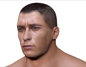 Male Character 3D model realtime