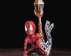 3D print model SPIDER-MAN FAR FROM HOME - Big Head Littled