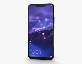 3D model Huawei Mate 20 lite Black