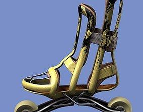 3D model Inlines roller skates
