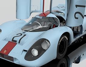 3D PBR Porsche 917 K racing 21