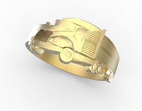 3D print model truck ring