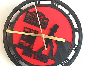 3D printable model Clock jon lord