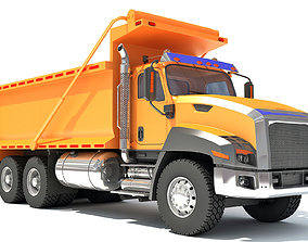 Dump Truck 3D large-truck