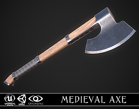 Medieval Axe 04 3D model