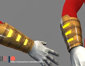 Shazam Gauntlet 3D Print STL Costume piece