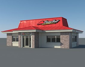 3D Pizza Hut Restaurant