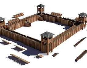 Fort Modular 3D model