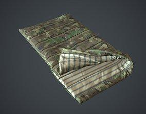 Sleeping Bag 3D asset