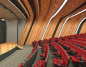 Auditorium Hall Design 3D model