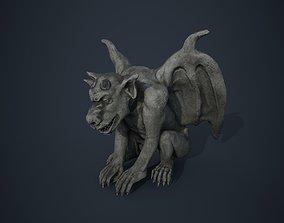 3D model Gargoyle statue