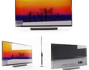3D model LG 65 E8PUA 4K HDR OLED Glass TV