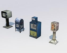3D asset Paperboxes