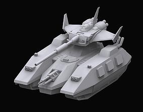 Gundam EF Magella attack model 3D
