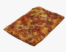 italian Pizza 3D model
