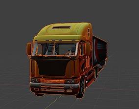model Truck 3D Model - freight argosy