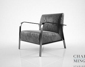 3D model Chai Ming Studios Thornet Lounge Chair