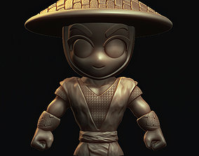 3D printable model Raiden Chibi Mortal Kombat